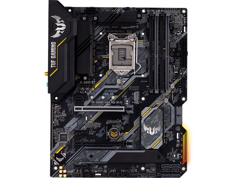 Материнская плата ASUS TUF Gaming B460-PRO (WI-FI) asus tuf z390m pro gaming