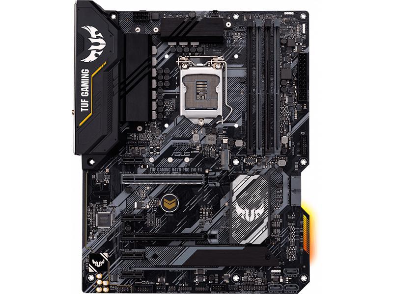 Материнская плата ASUS TUF Gaming H470-PRO (WI-FI) asus tuf z390m pro gaming