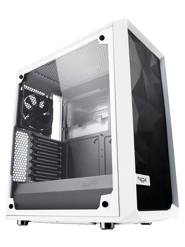 Корпус Fractal Design Meshify C White TG FD-CA-MESH-C-WT-TGC