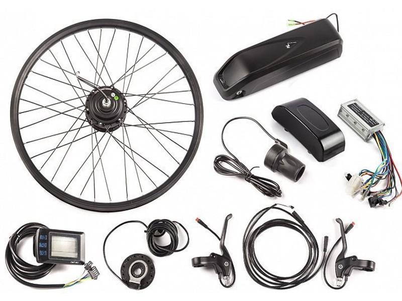 Мотор-колесо Eltreco 36V 500W LCD 27.5 + АКБ 10Ah 22265