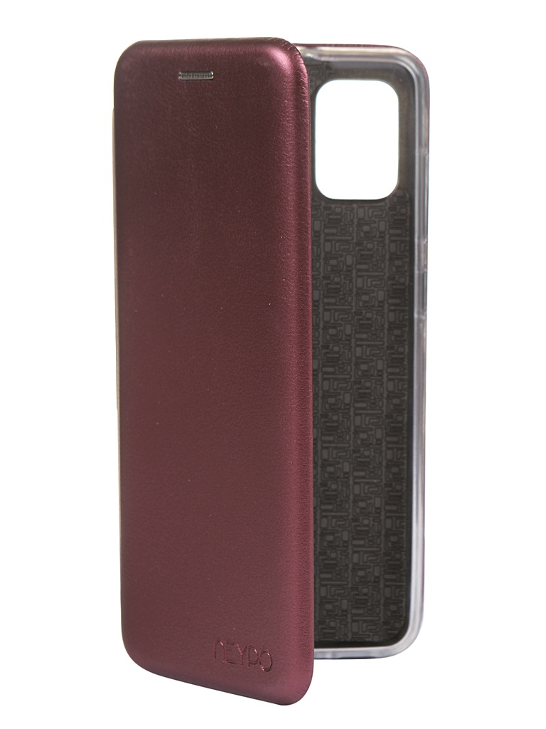 Чехол Neypo для Samsung Galaxy A31 2020 Premium Bordo NSB17375