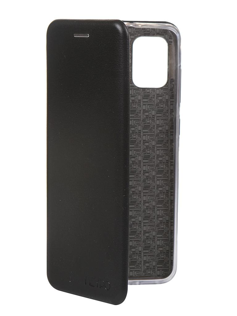 Чехол Neypo для Samsung Galaxy A31 2020 Premium Black NSB17187