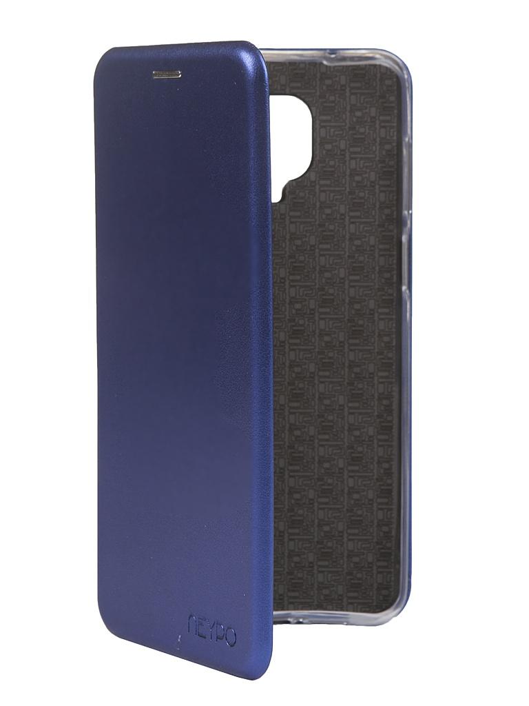 Чехол Neypo для Xiaomi Redmi Note 9S / 9 Premium Pro Blue NSB17390 чехол neypo для xiaomi redmi note 8 pro premium blue nsb15400