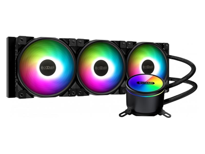 Водяное охлаждение PCcooler GI-CX360 ARGB (LGA2066/2011/1366/115х/775/TR4/AM4/FM1/2/2+/AM2/2+/3/3+)