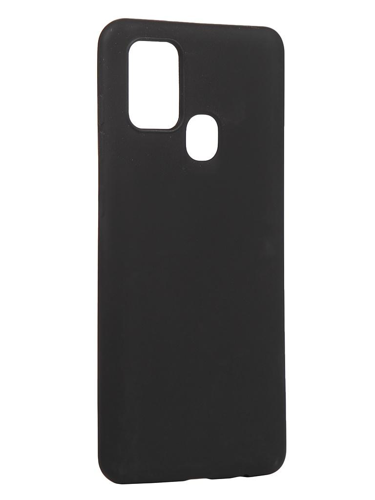 Чехол Neypo для Samsung Galaxy A21s 2020 Silicone Soft Matte Black NST17395