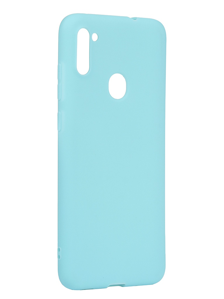 Чехол Neypo для Samsung Galaxy A11/M11 2020 Silicone Soft Matte Turquoise NST17397