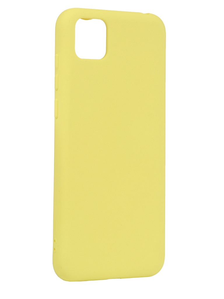 Чехол Neypo для Honor 9S Silicone Case 2.0mm Yellow NSC17274