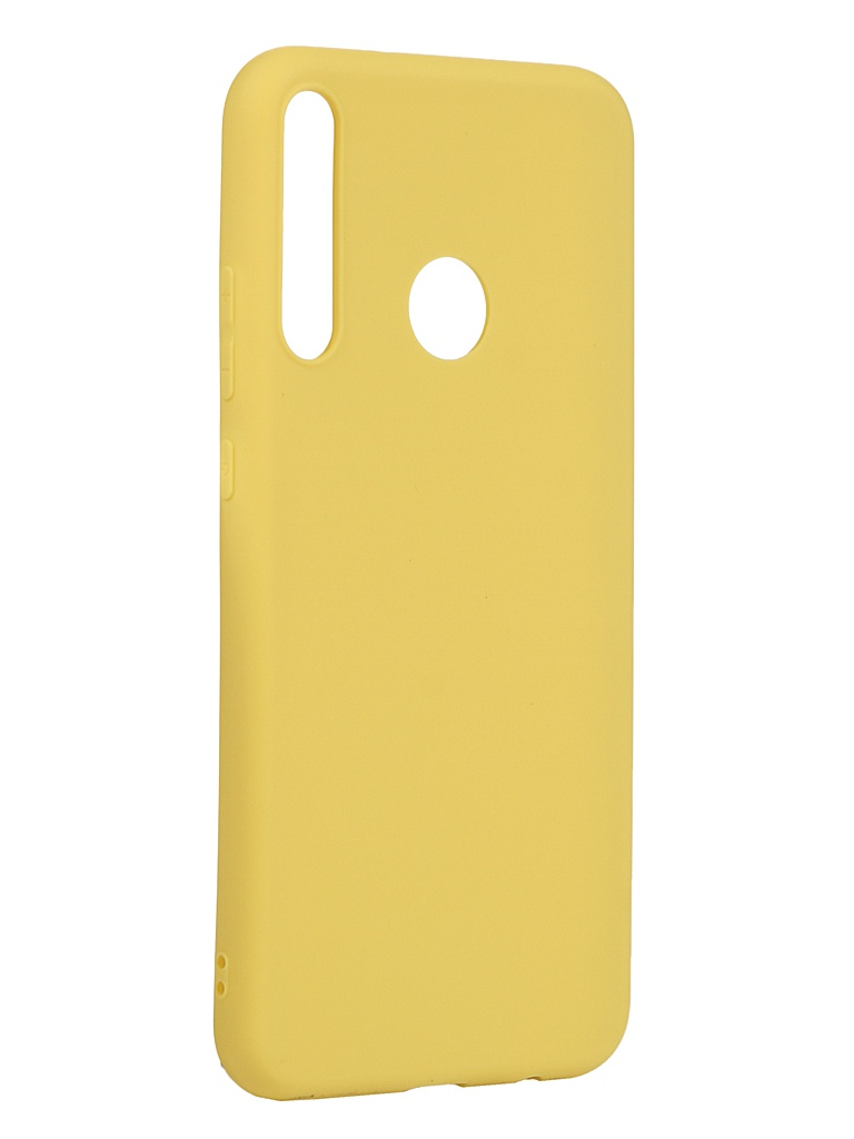 Чехол Neypo для Honor 9C Silicone Soft Matte Yellow NST17123