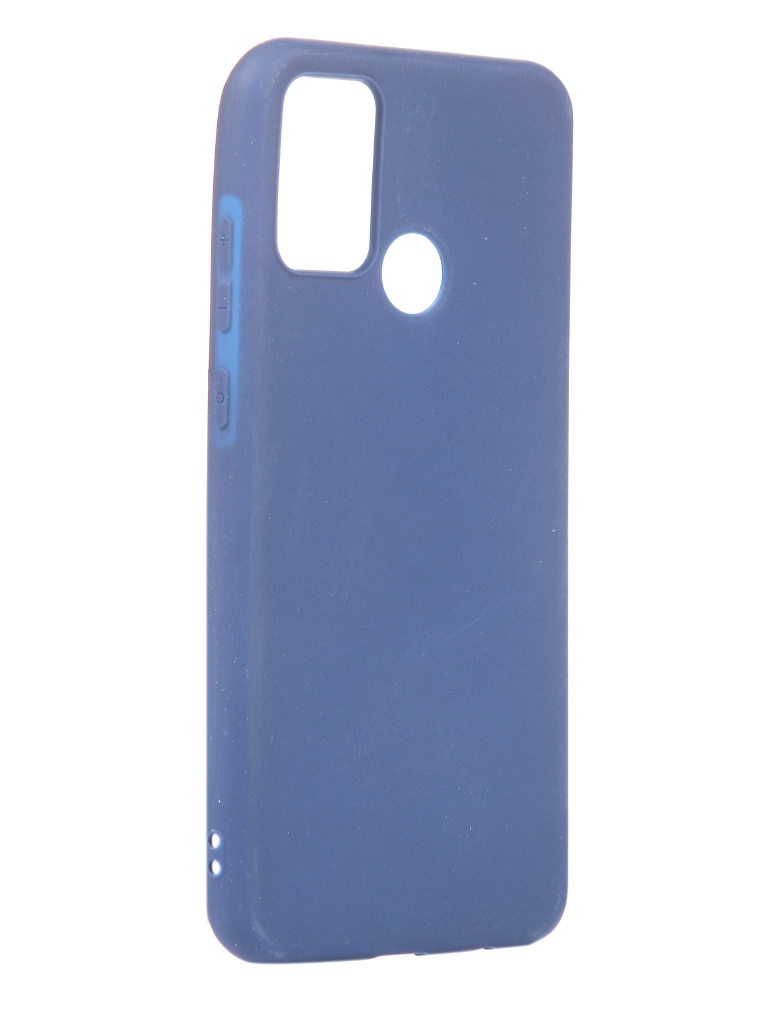 Чехол Neypo для Honor 9A Silicone Soft Matte Dark Blue NST17394
