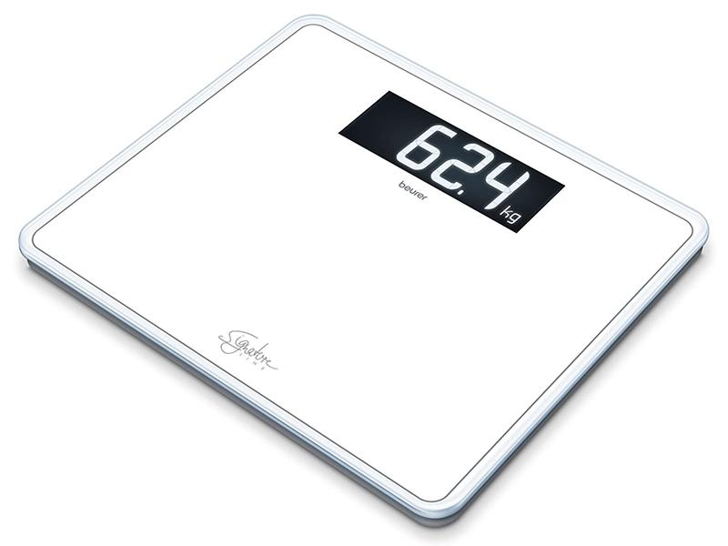 Весы напольные Beurer GS 410 Signature Line White 735.77 весы напольные beurer bf950 white 749 11