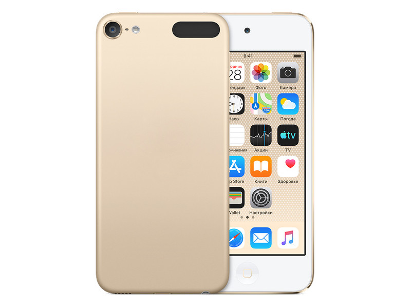 Плеер APPLE iPod Touch 256Gb Gold MVJ92RU/A док станция apple для apple gold ml8k2zm a