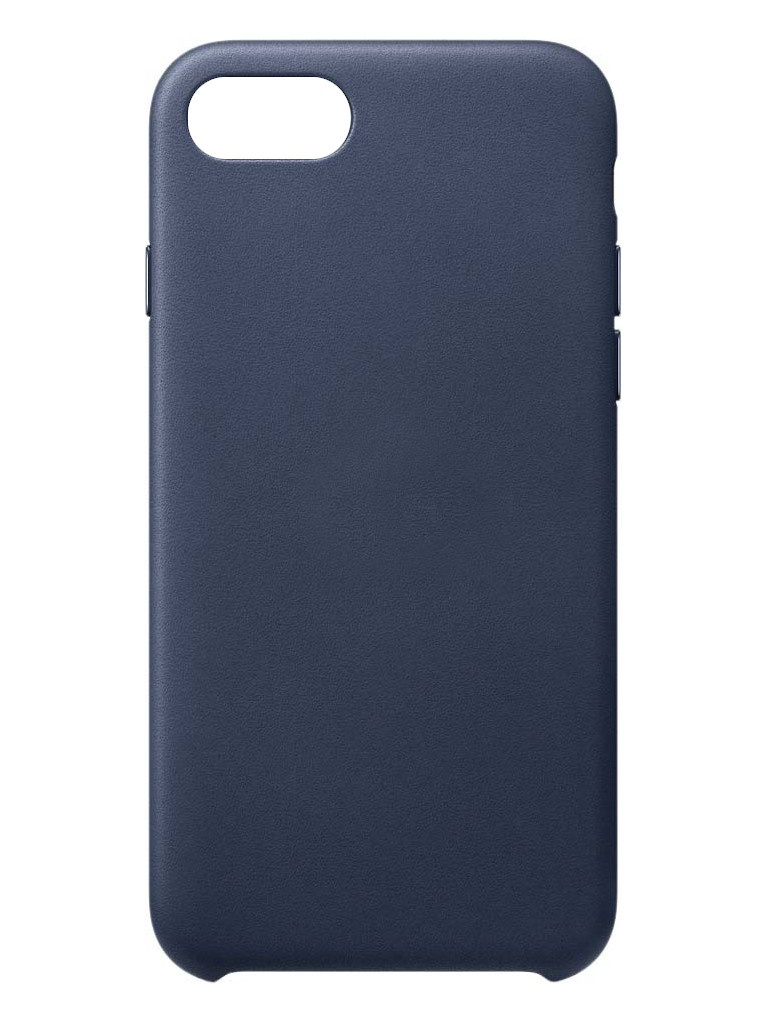 Чехол для APPLE iPhone SE (2020) Leather Case Midnight Blue MXYN2ZM/A