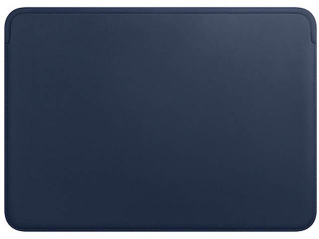 Аксессуар Чехол для APPLE MacBook Pro 13 Leather Case Dark Blue MRQL2ZM/A