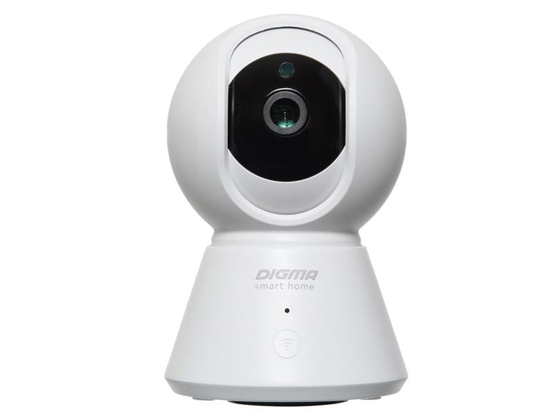 Фото - IP камера Digma DiVision 401 White-Black видеокамера ip digma division 401 2 8мм черный