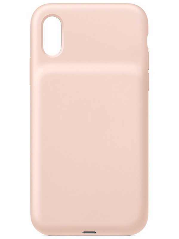 Чехол-аккумулятор для APPLE iPhone XS Smart Battery Case Pink Sand MVQP2ZM/A
