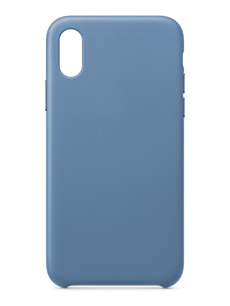 Чехол для APPLE iPhone XS Leather Case Cornflower MVFP2ZM/A
