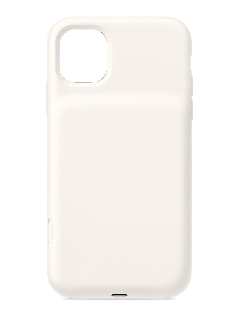 Чехол для APPLE iPhone 11 Smart Battery Case with Wireless Charging White MWVJ2ZM/A