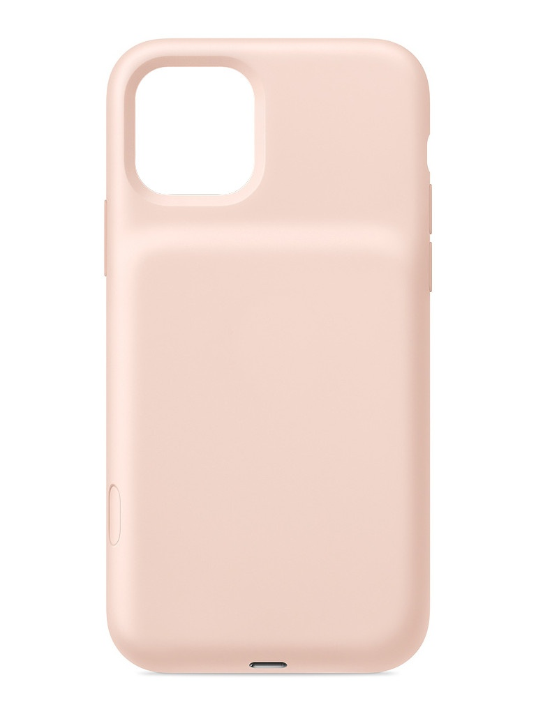 Чехол для APPLE iPhone 11 Pro Max Smart Battery Case with Wireless Charging Pink Sand MWVR2ZM/A