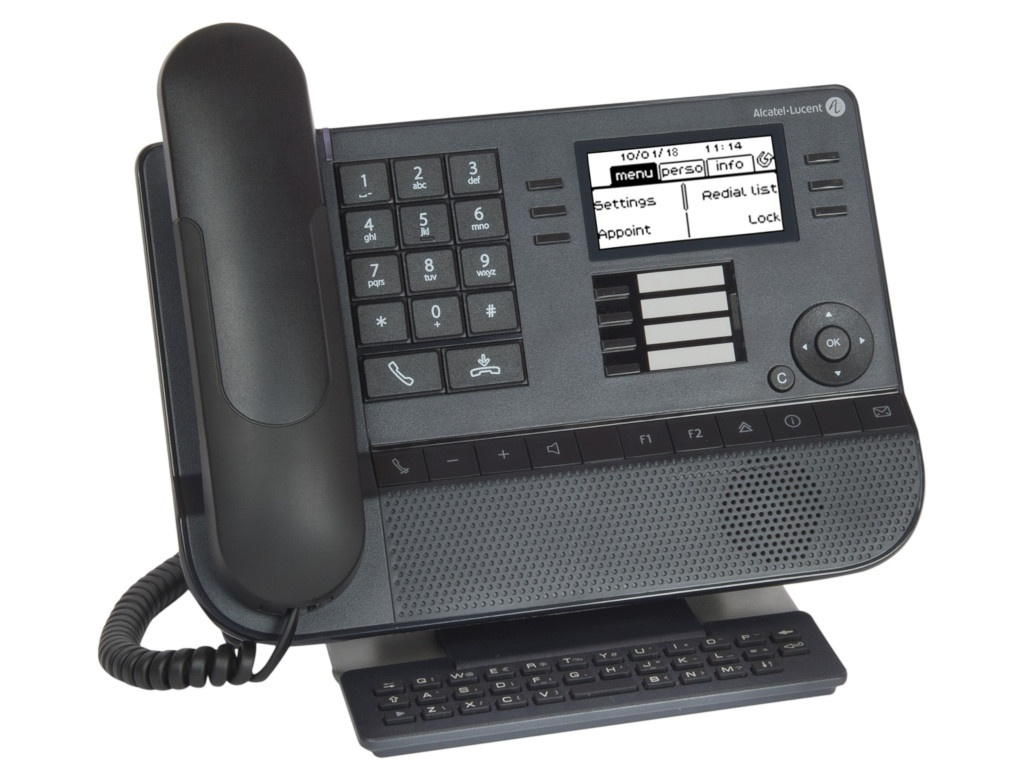 VoIP оборудование Alcatel-Lucent 8029S Black