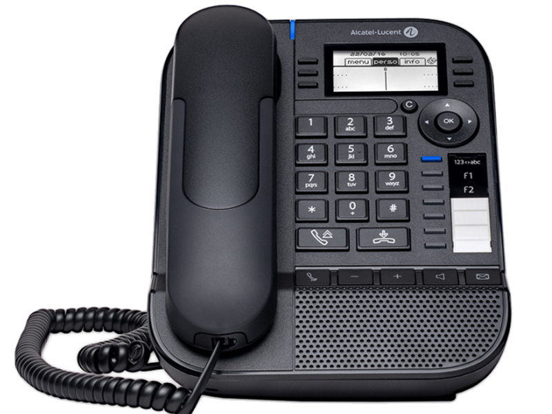 VoIP оборудование Alcatel-Lucent 8018 Black