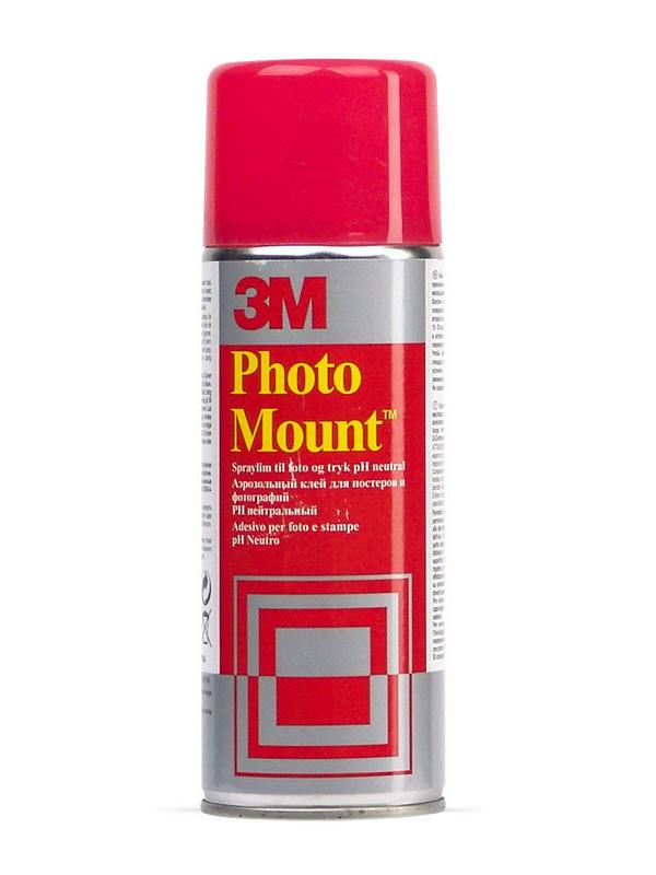 Клей-спрей 3M Photo Mount 7024 400ml 7000042443