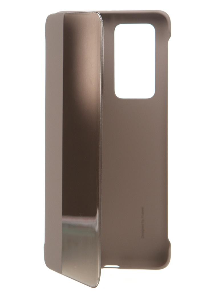 Чехол для Huawei P40 Pro Smart View Flip Khaki 51993783