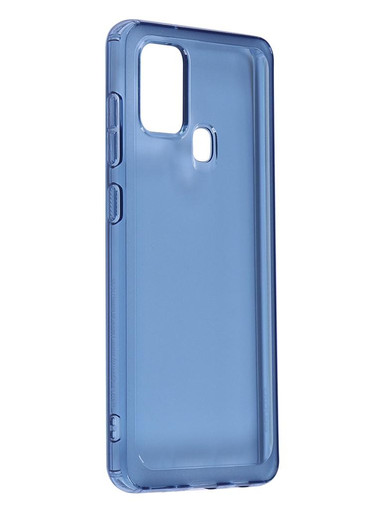 Чехол Araree для Samsung Galaxy A21s A Cover Blue GP-FPA217KDALR