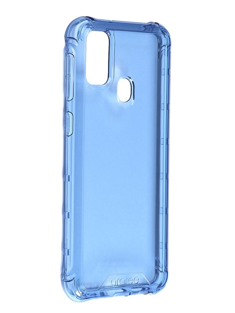 Чехол Araree для Samsung Galaxy M21 M Cover Blue GP-FPM215KDALR