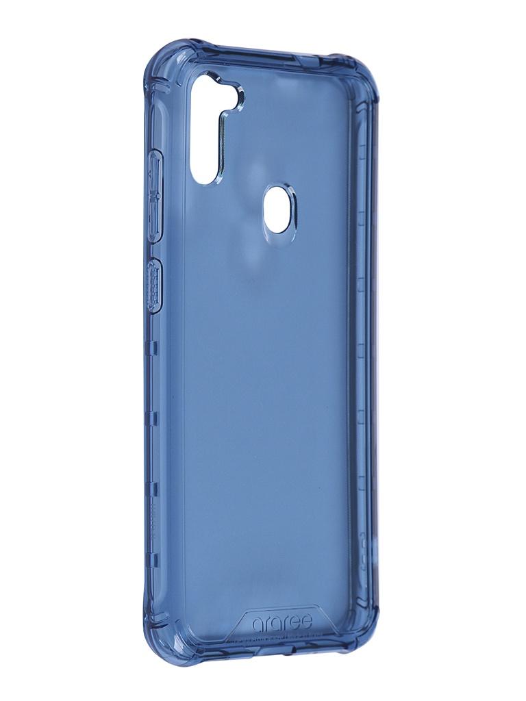 Чехол Araree для Samsung Galaxy M11 M Cover Blue GP-FPM115KDALR