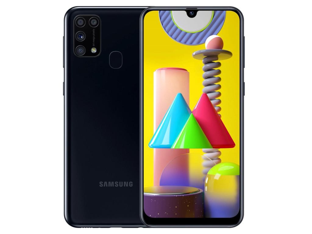 Сотовый телефон Samsung SM-M315F Galaxy M31 6Gb/128Gb Black Выгодный набор + серт. 200Р!!!