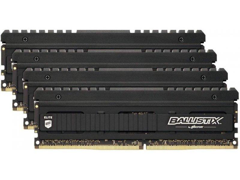 Фото - Модуль памяти Ballistix DDR4 DIMM 3600MHz PC4-28800 CL16 - 32Gb Kit (8x4Gb) BLE4K8G4D36BEEAK модуль памяти ballistix rgb black ddr4 dimm 3600mhz pc4 28800 cl16 16gb bl16g36c16u4bl