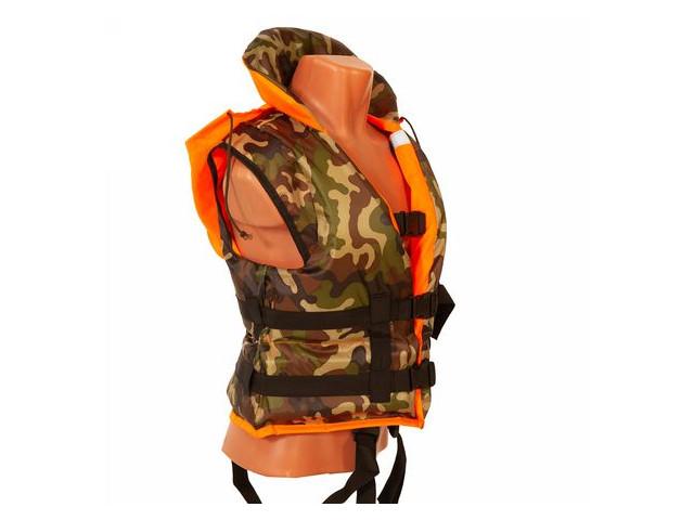 Спасательный жилет Ковчег Хобби p.54-58 (3XL-4XL) Orange-Camouflage