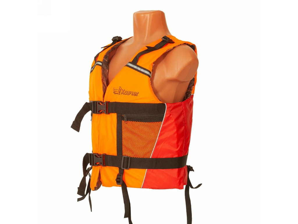 Спасательный жилет Ковчег Тритон р.56-58 (3XL-4XL) Orange-Red-Camouflage