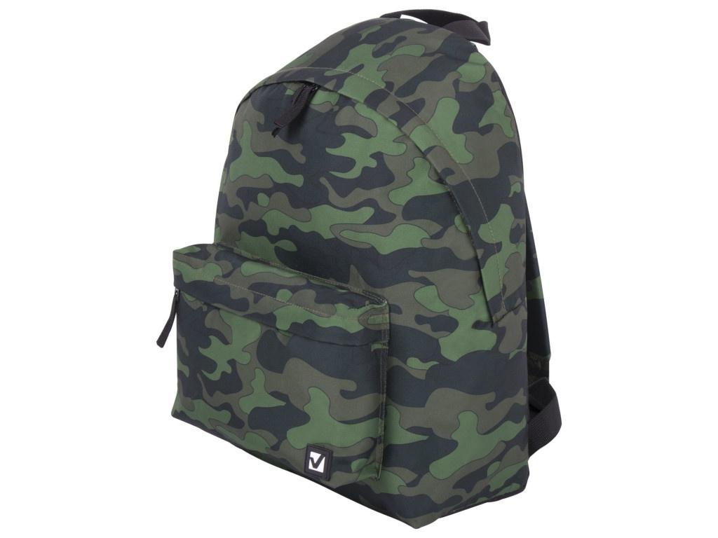 Рюкзак Brauberg Green Camouflage 228860