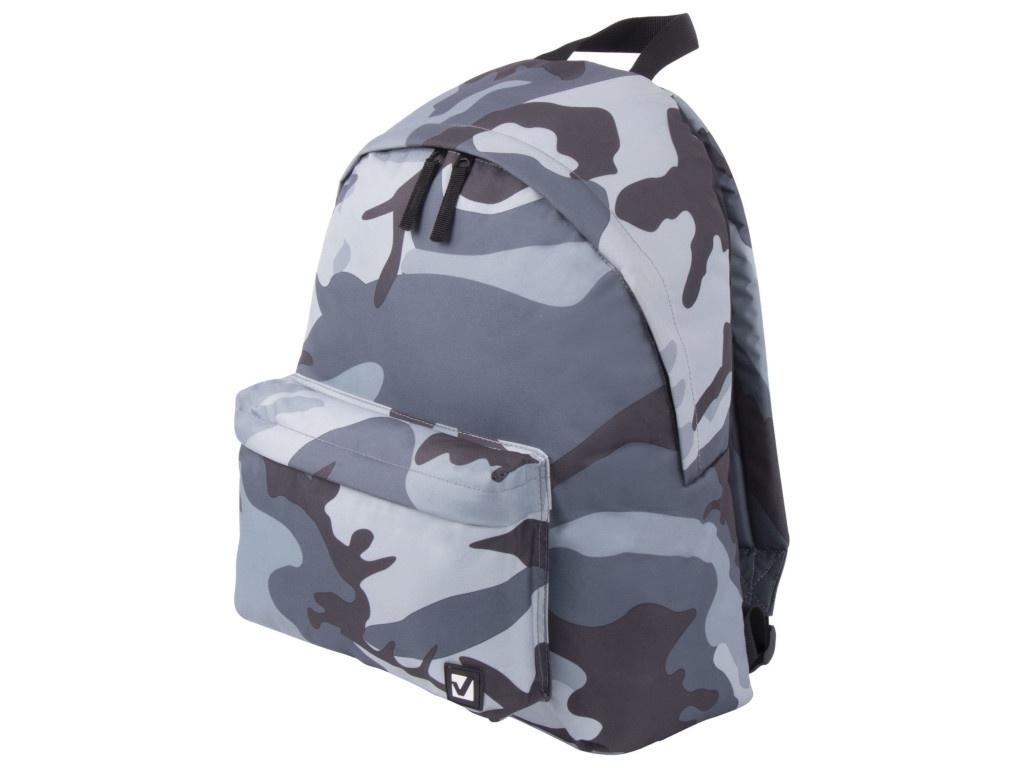 Рюкзак Brauberg Grey Camouflage 228857