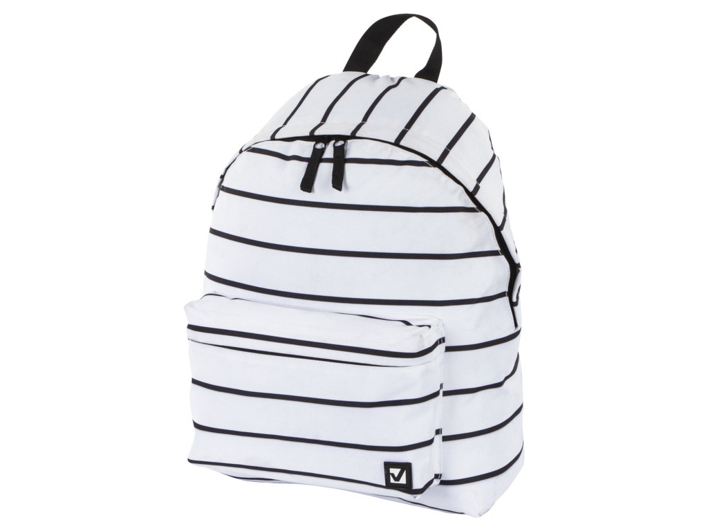 Рюкзак Brauberg White Striped 228846