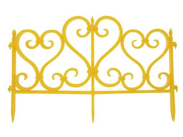 Ограждение Агротема А Ажурное 3m Yellow 24527