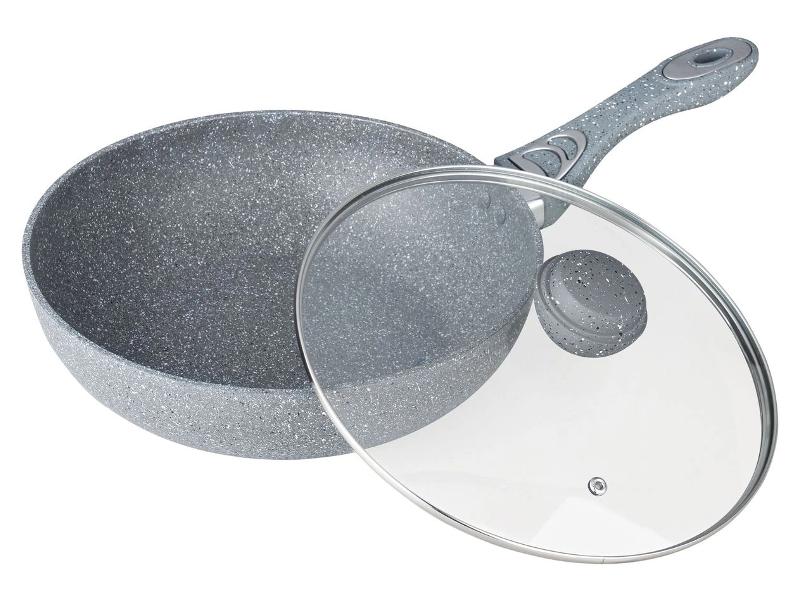 Сковорода Bekker Silver Marble 28cm BK-7909