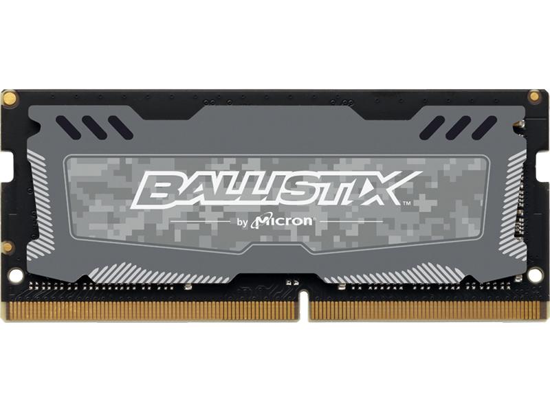 Модуль памяти Ballistix Sport LT DDR4 SO-DIMM 2666MHz PC4-21300 CL16 - 4Gb BLS4G4S26BFSD