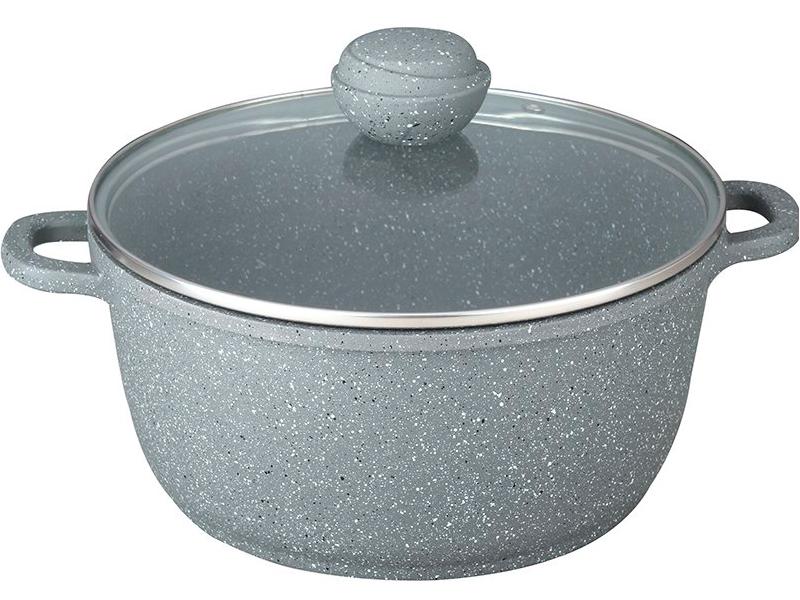 Кастрюля Bekker Silver Marble 6L BK-3816