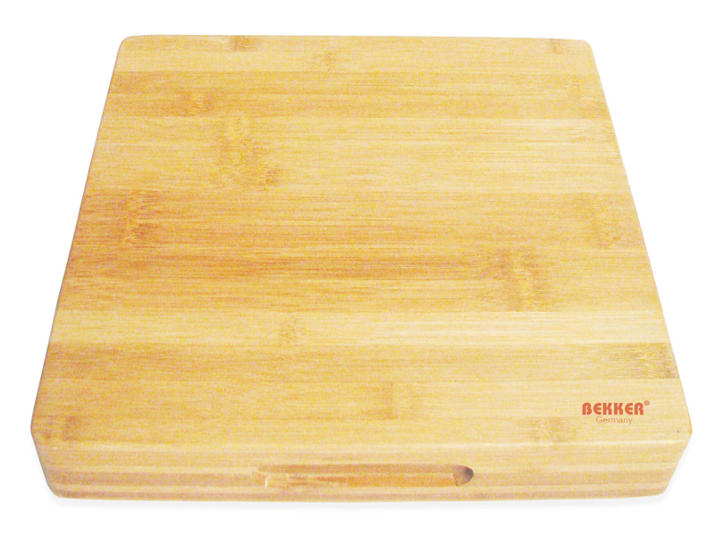 Доска разделочная Bekker 30x30x5cm BK-9722 доска разделочная attribute black 35 25 см