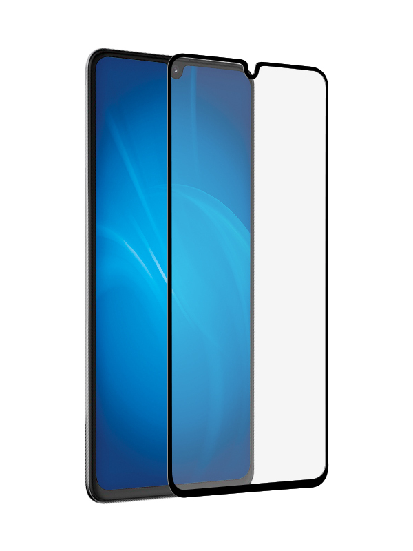 Защитный экран Red Line для Oppo A12 Full Screen Tempered Glass Glue Black УТ000021228