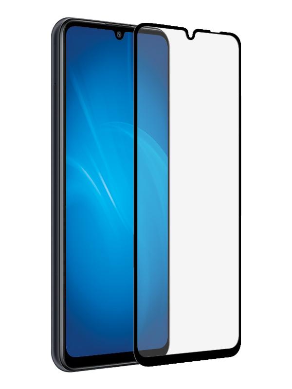 Защитный экран Red Line для Huawei Y6p Full Screen Tempered Glass Glue Black УТ000021229