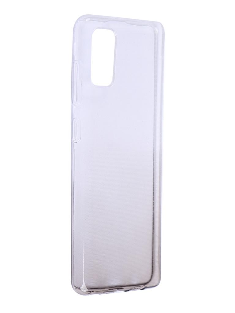 Чехол iBox для Samsung Galaxy A41 Crystal Silicone Gradient Black УТ000021210