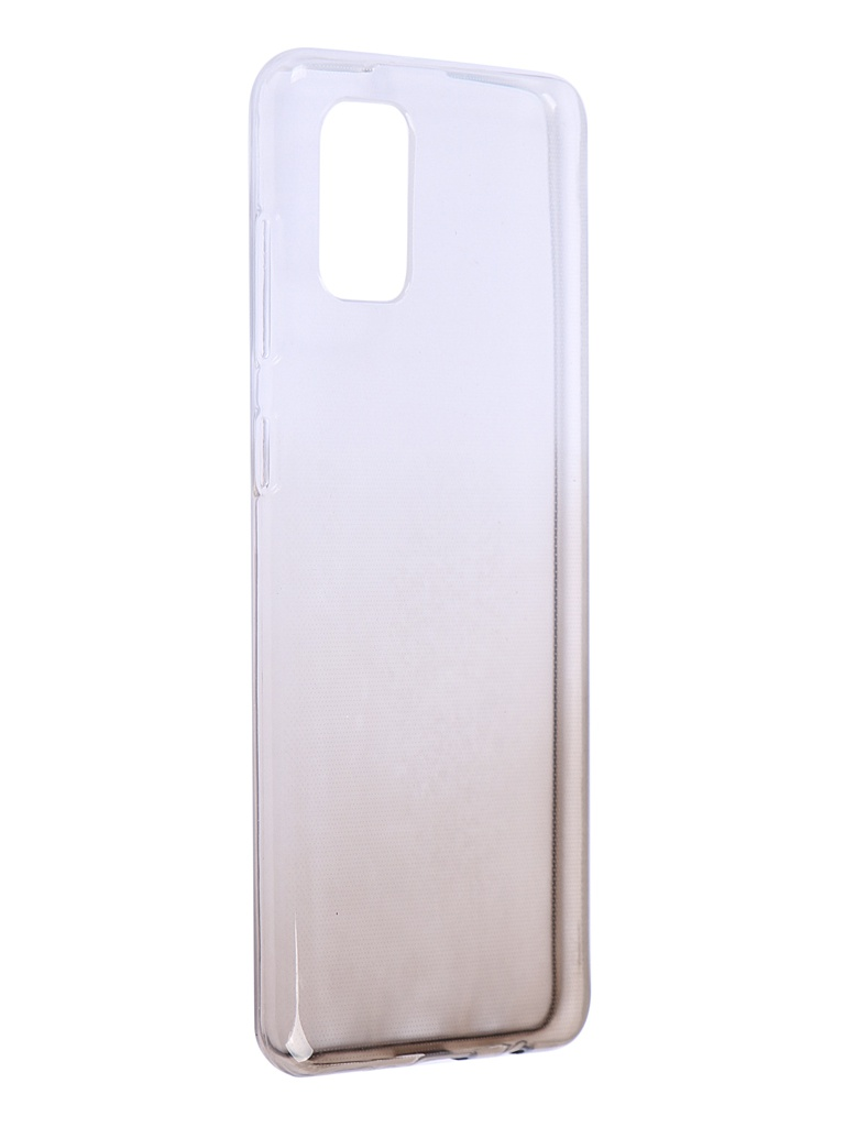 Чехол iBox для Samsung Galaxy A31 Crystal Silicone Gradient Black УТ000021208