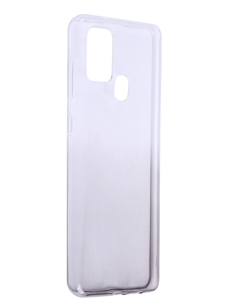 Чехол iBox для Samsung Galaxy A21s Crystal Silicone Gradient Black УТ000021206
