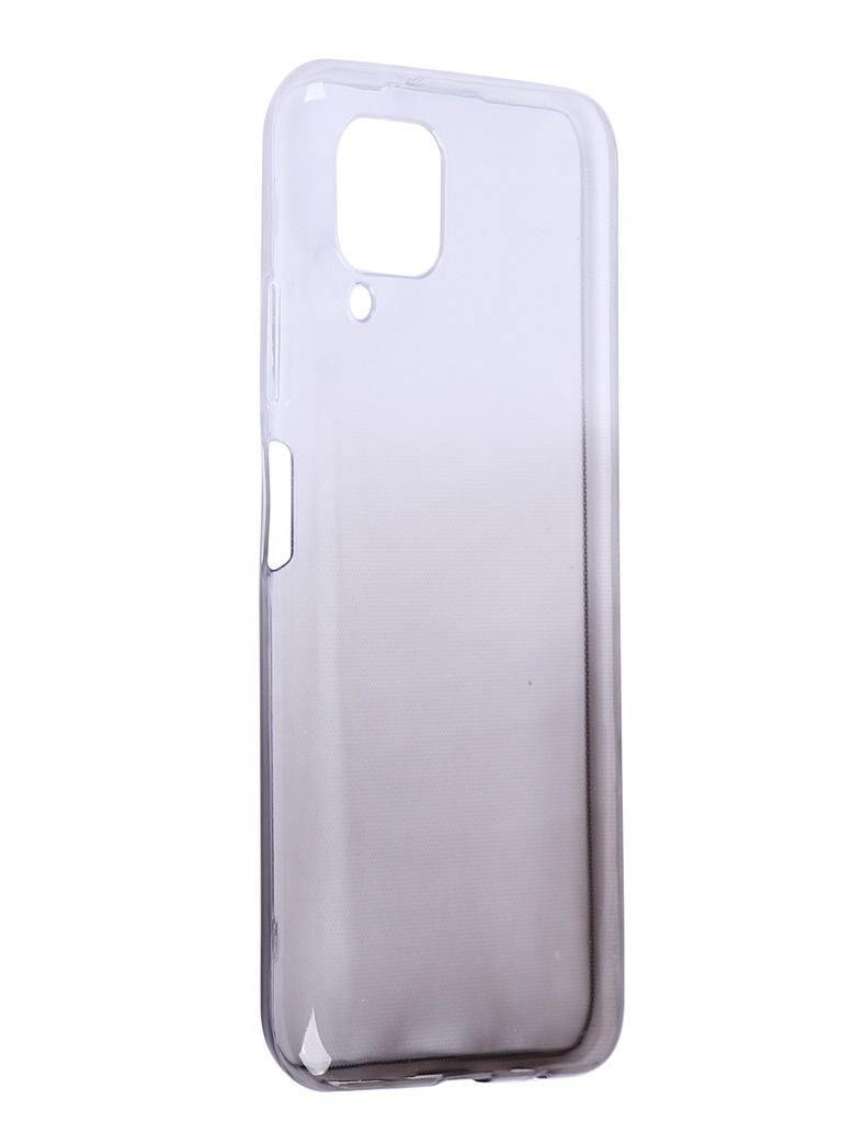 Чехол iBox для Huawei P40 Lite Crystal Silicone Gradient Black УТ000021302
