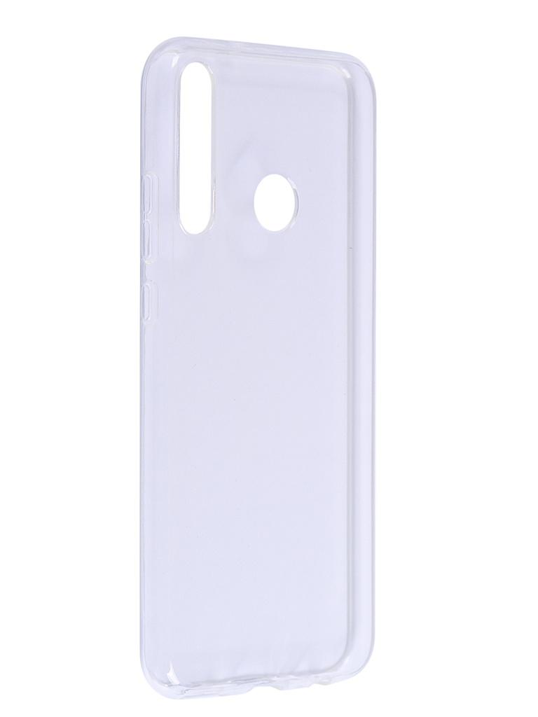 Чехол iBox для Huawei Honor 9C Crystal Silicone Transparent УТ000021023 аксессуар чехол huawei honor 8 ibox crystal transparent