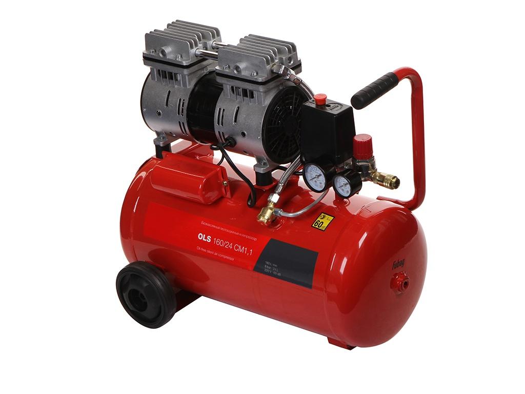 Компрессор Fubag OLS 160/24 CM 1.1, 24 л, 0.8 кВт