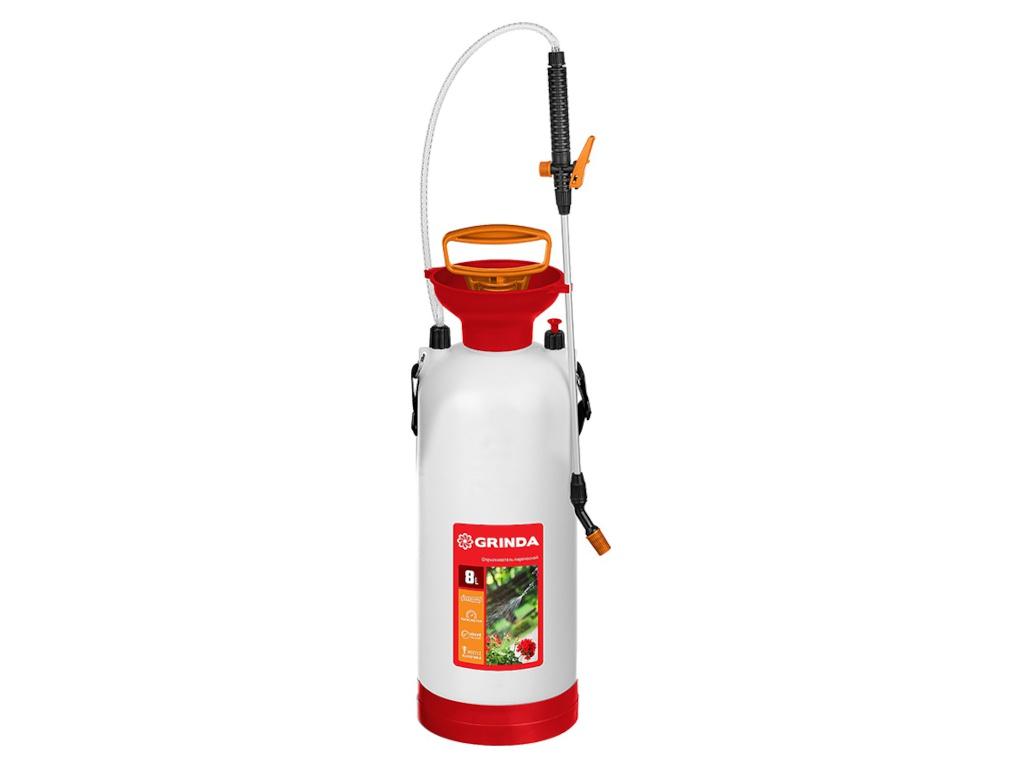 Опрыскиватель Grinda TS-8 8L 8-425117 / z01 / z02 опрыскиватель ручной grinda 12л handy spray 8 425161